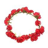 Blumenstirnband Kopfband Kranz von Rosen