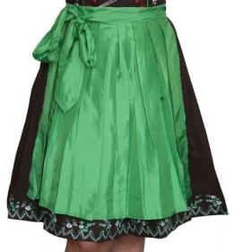 Dirndlschürze glänzend grün