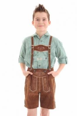 Kinder Lederhose kurz Größe: 104