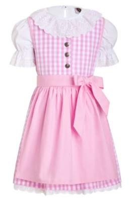 Kinderdirndl-Set rosa 134-140
