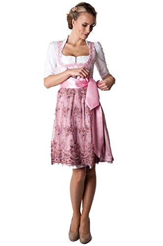 Ludwig & Therese Dirndl Amy midi rosa