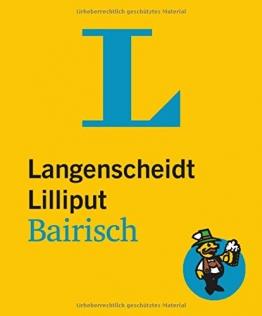 Langenscheidt Lilliput Bairisch - Langenscheidt Dialekt-Lilliputs